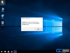 Windows 10 RS2 1703 VOL专业版极限精简